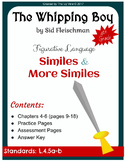 The Whipping Boy - Figurative Language - Chapters 4-6 (Grade 4)