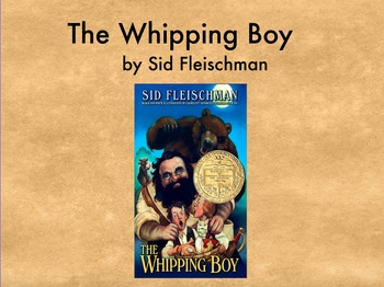 The Whipping Boy Flipchart Discussion Guide