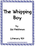 The Whipping Boy Literary Packet with Tests, Vocabulary an
