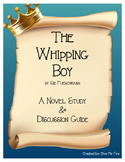 The Whipping Boy Novel Study and Discussion Guide
