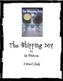 The Whipping Boy - Novel Study