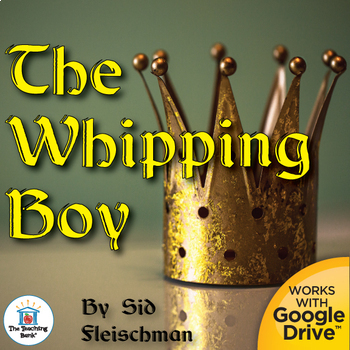 The Whipping Boy Novel Study Book Unit