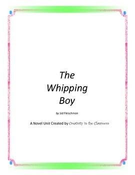 The Whipping Boy Novel Unit Plus Grammar