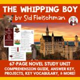 The Whipping Boy Novel Unit