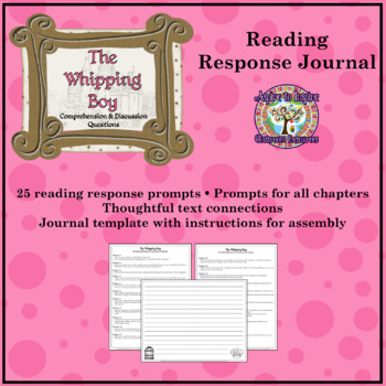 The Whipping Boy: Reading Response Journal
