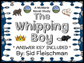 The Whipping Boy (Sid Fleischman) Novel Study / Reading Co