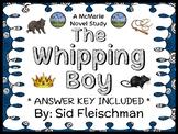 The Whipping Boy (Sid Fleischman) Novel Study / Reading Comprehension Unit