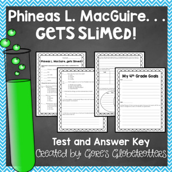 Phineas L MacGuire Gets Slimed Book Test