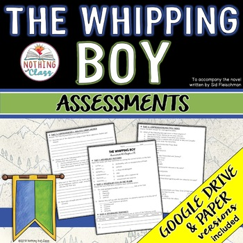 The Whipping Boy: Tests, Quizzes, Assessments
