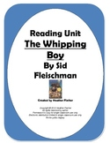 The Whipping Boy Unit - Common Core Alligned