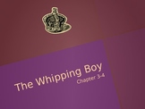 The Whipping Boy Vocabulay Power Point Chapters 3-4