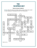 The Whipping Boy: 25 Words-to-Know Crossword—Companion to Bookmarks Plus!