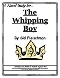 The Whipping Boy, by Sid Fleischman: A Novel Study