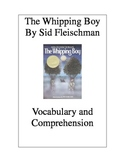 The Whipping Boy by Sid Fleischman: Vocabulary & Comprehen