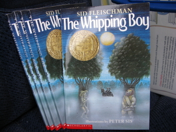 The Whipping Boy by Sid Fleishman (Set of 5)
