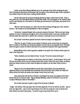 The Whirligig of Life Mp3 and Easy Reading Text