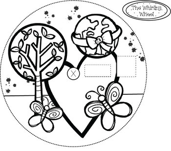 The Whirling Wheel {Earth Day Set} Addition, Multiplication etc,. Template