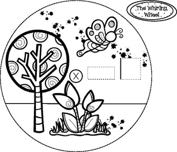 The Whirling Wheel {Spring Theme} Addition, Multiplication etc,. Template
