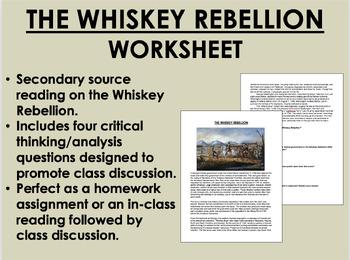 The Whiskey Rebellion - President Washington - US History/APUSH
