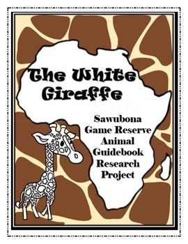 The White Giraffe Sawubona Game Reserve Wildlife Guidebook