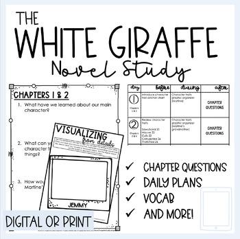 The White Giraffe by Laurent St. John Novel Study