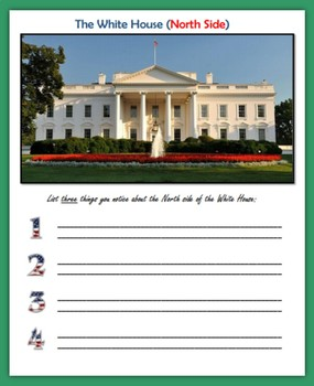 The White House (Descriptive Writing)