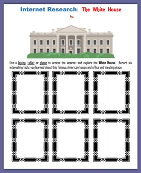 The White House (Internet Research for the Gifted and Talented)