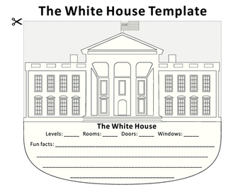Paper Cutting Craft-The White House