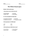 The White House Quiz