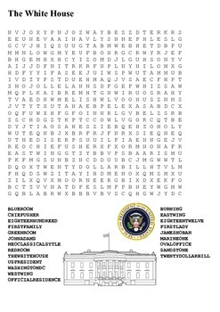 The White House Word Search