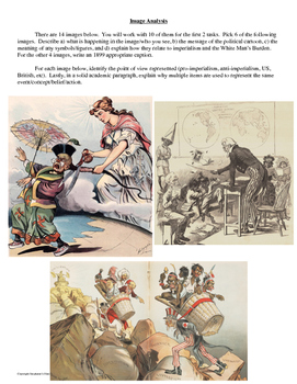 The White Man's Burden Primary Source and Image Analysis