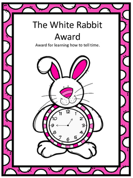 The White Rabbit Award for Telling Time