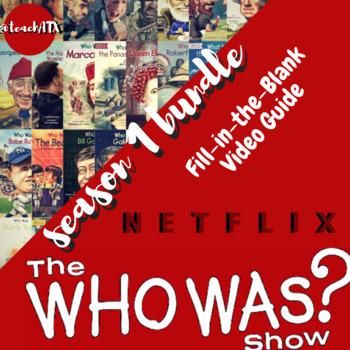 The Who Was Show Season 1 Bundle-- Netflix Video Guides