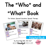 "The ""Who"" and ""What"" Book for Autism, Special Education &"