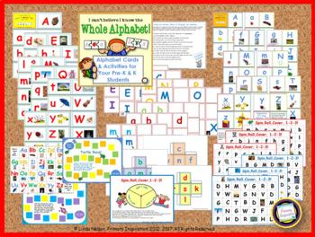 Alphabet Resources for PreK and Kindergarten