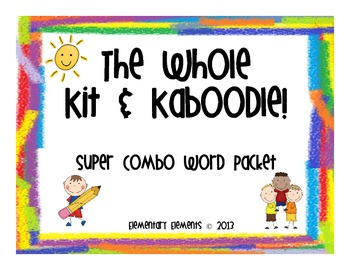The Whole Kit & Kaboodle Word Pack