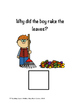 The Why Question Book adapted/interactive book