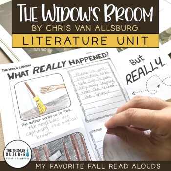 The Widow's Broom Literature Unit {My Favorite Read Alouds} Halloween