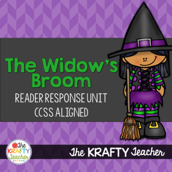 The Widow's Broom Reader Response CCSS Aligned *October* Fall