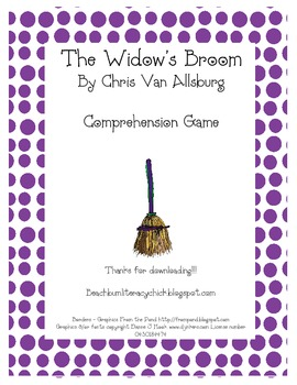 The Widow's Broom - Comprehension Game