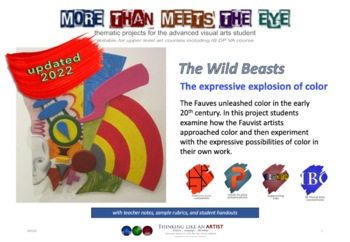 The Wild Beasts, the expressive explosion of color - full unit