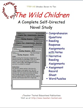 The Wild Children: A Complete Novel Study