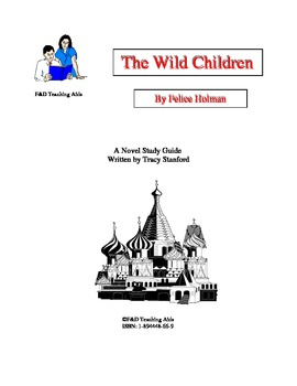 The Wild Children Novel Study Guide