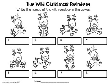 The Wild Christmas Reindeer BUNDLE