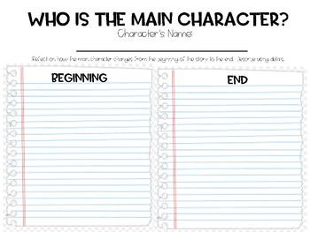 Main Character Analysis