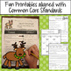 The Wild Christmas Reindeer Mini Literacy Unit Aligned with Common Core
