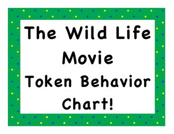 The Wild Life Movie Token Behavior Chart