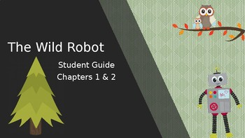 The Wild Robot Chapter 1 & 2 student discussion guide
