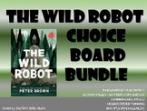 The Wild Robot Choice Board Bundle 11 Activity Pages Book