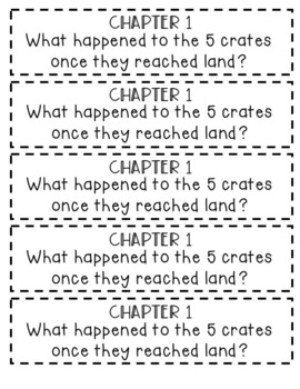 The Wild Robot Comprehension Questions